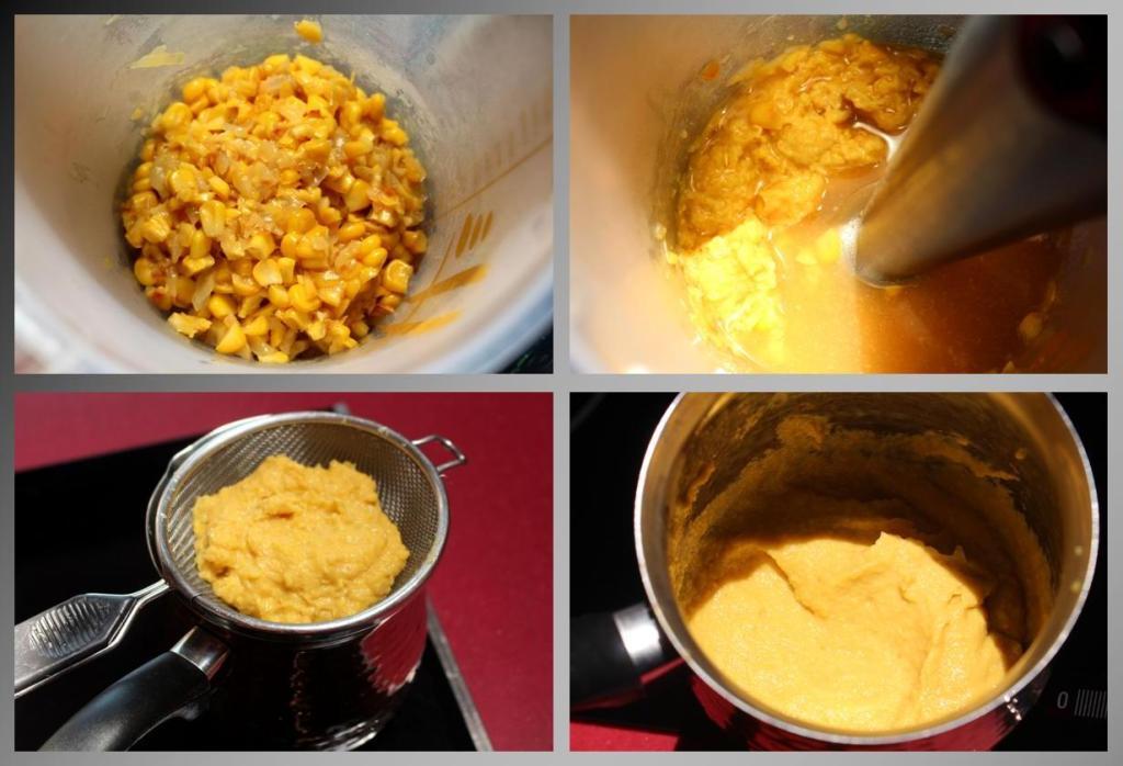 Crema de maíz