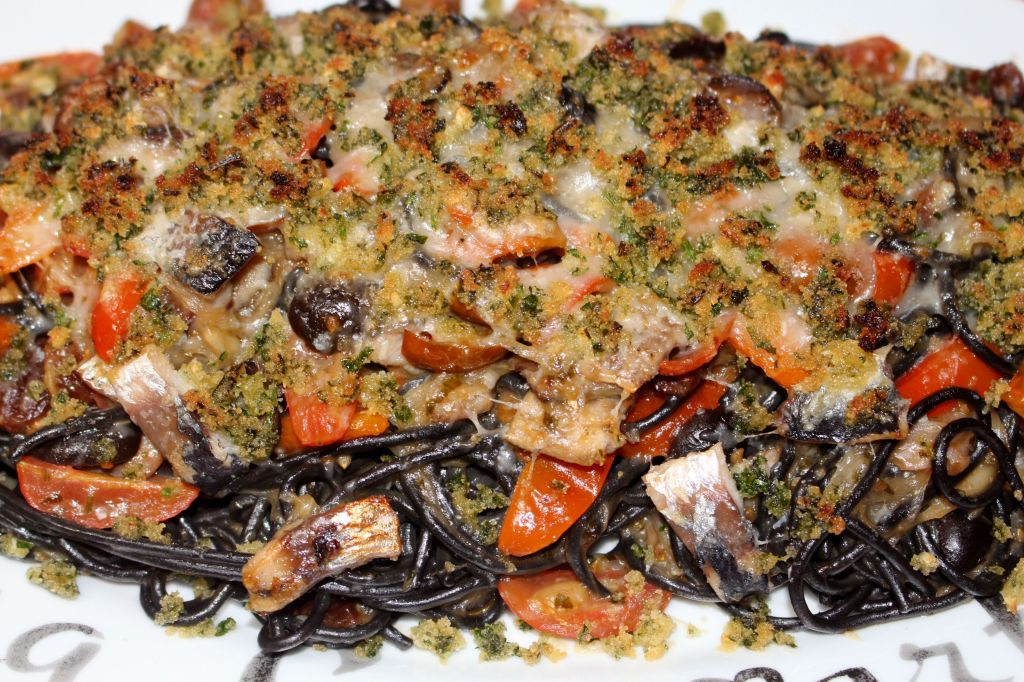 Pasta con le sarde (sardinas)