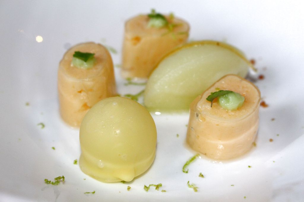 Limón y wasabi