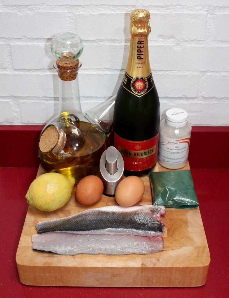 Lubina al champagne