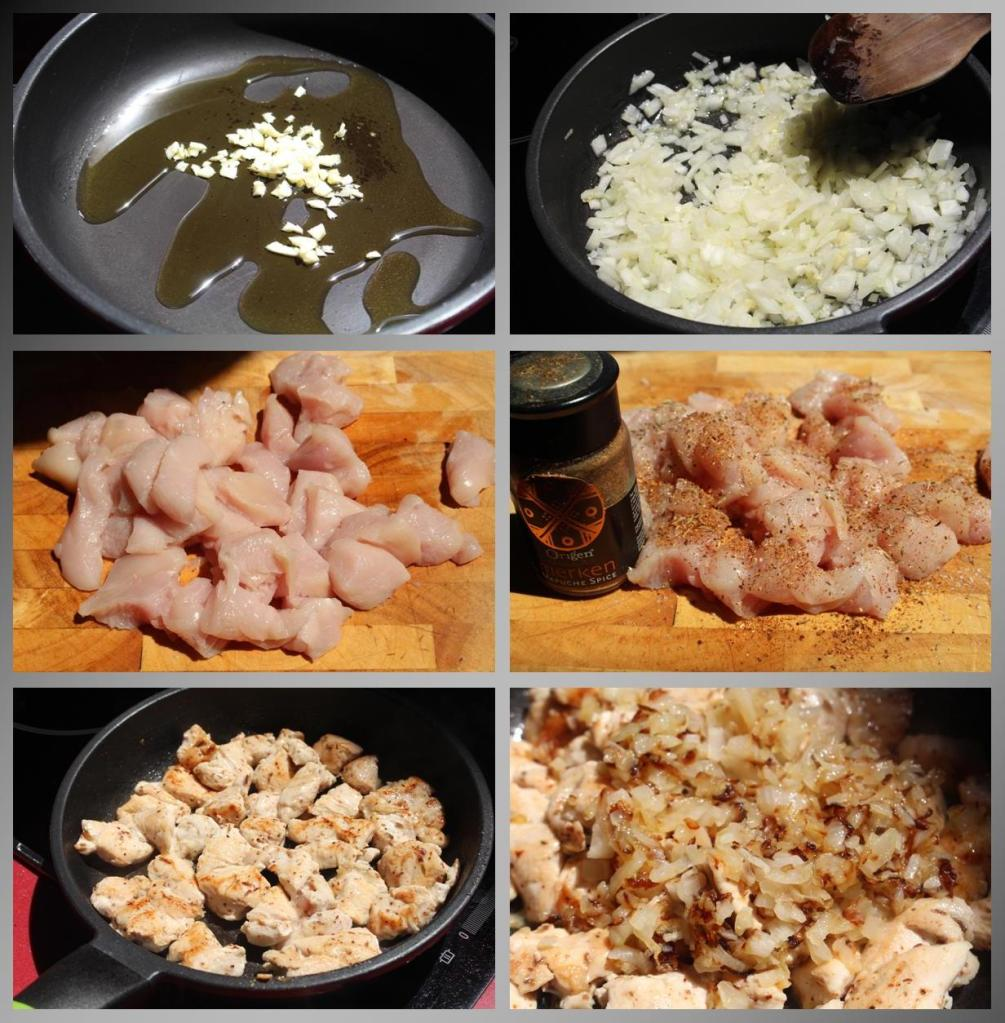 Pollo a la chilena