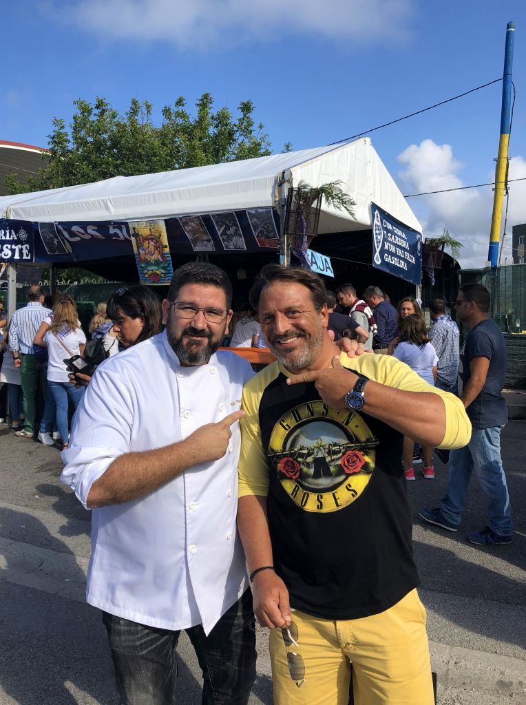 Dani Garcia y Fuego de Mortero