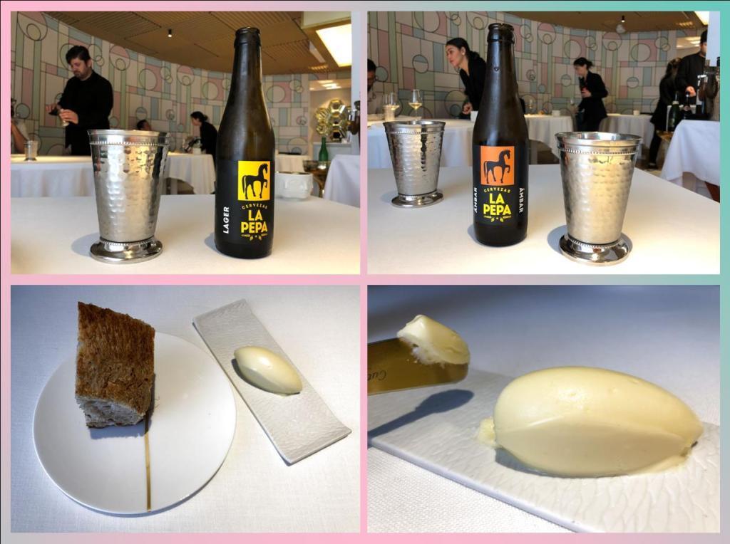 Cerveza La Pepa Y mantequilla La Bordier