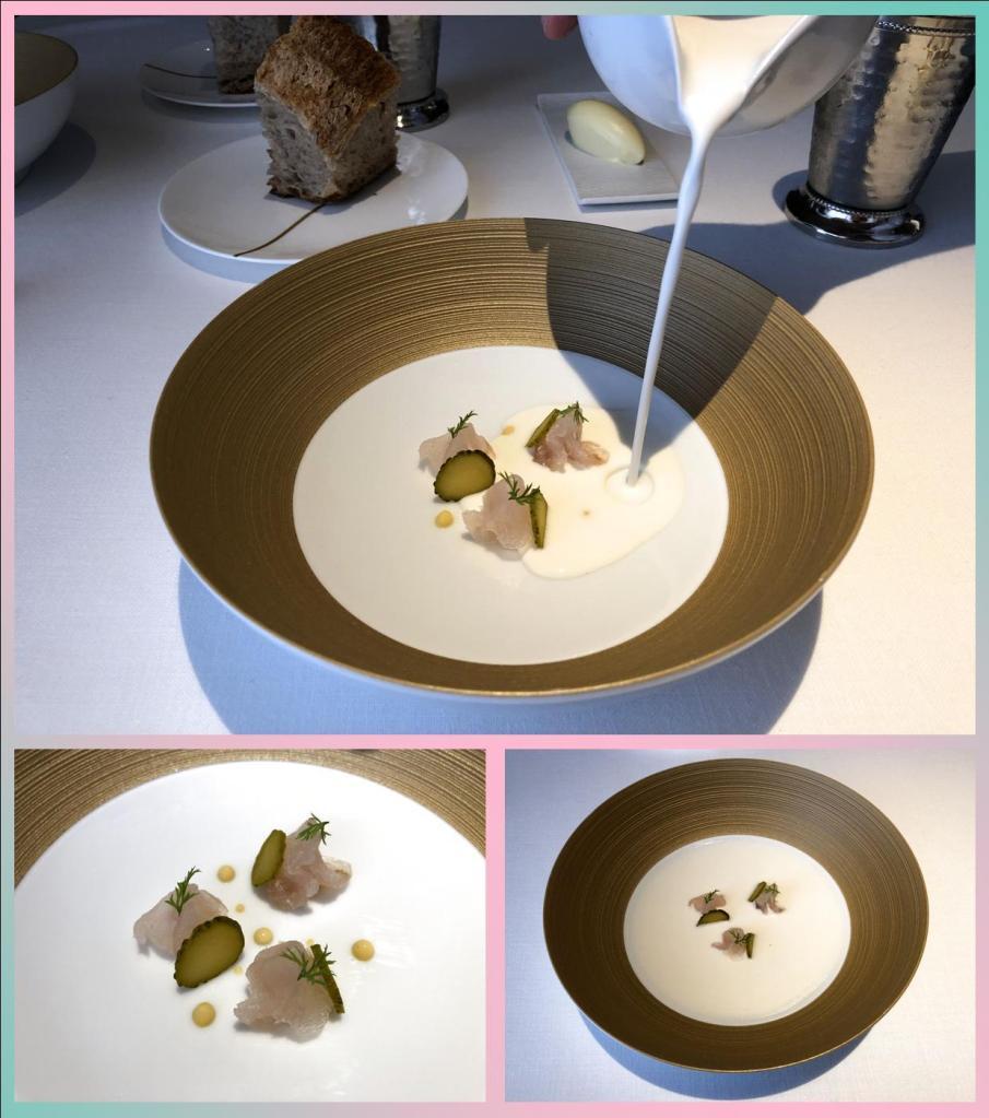 Borriquete con gazpachuelo