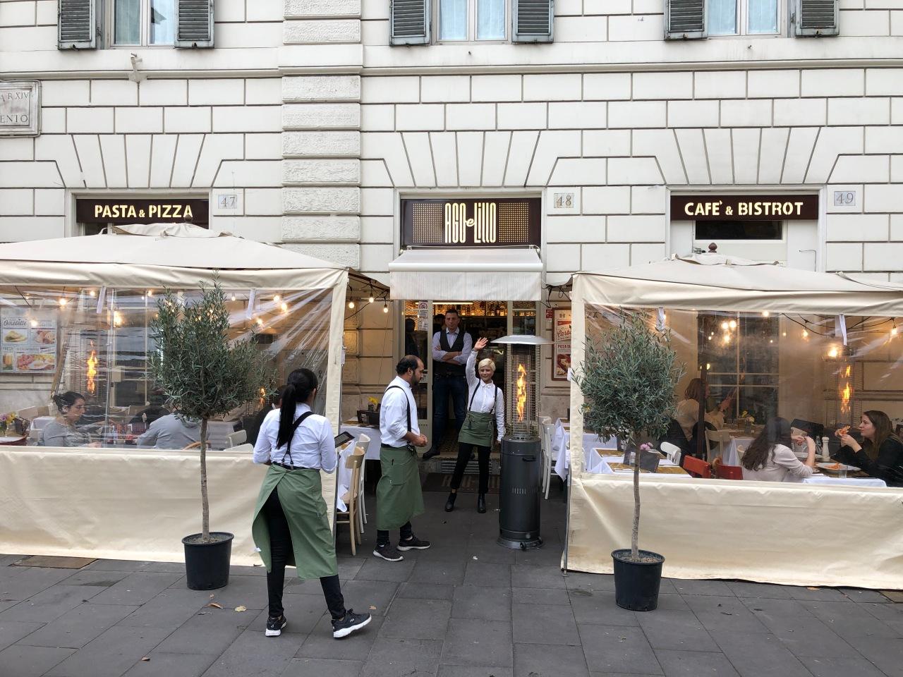 Ago e Lillo Bistrot – Guía de Roma 1ªParte