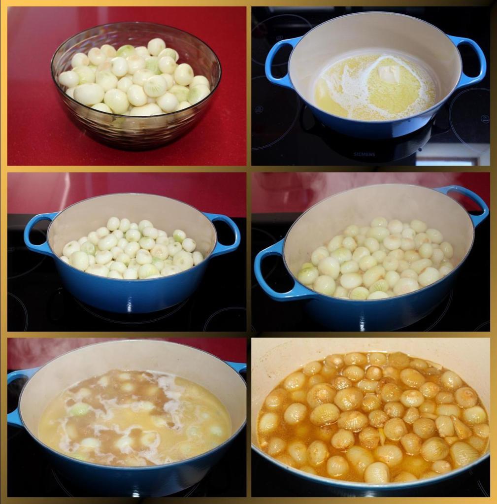 Cebollitas Caramelizadas