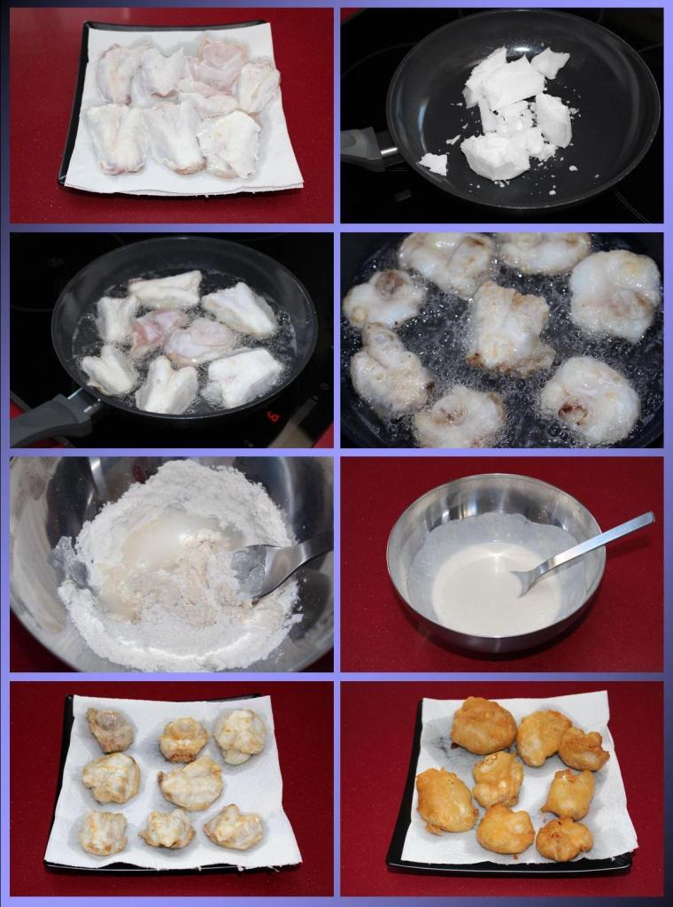Cocochas de Bacalao Asiáticas