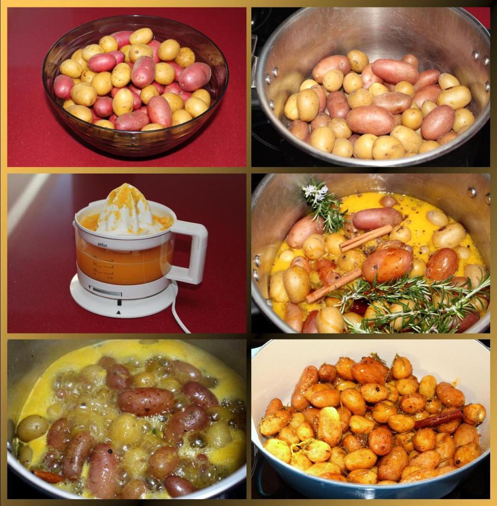 Patatas al Romero y Miel