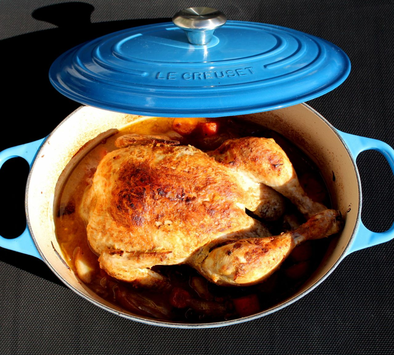 Pollo en Cocotte con FrutosRojos