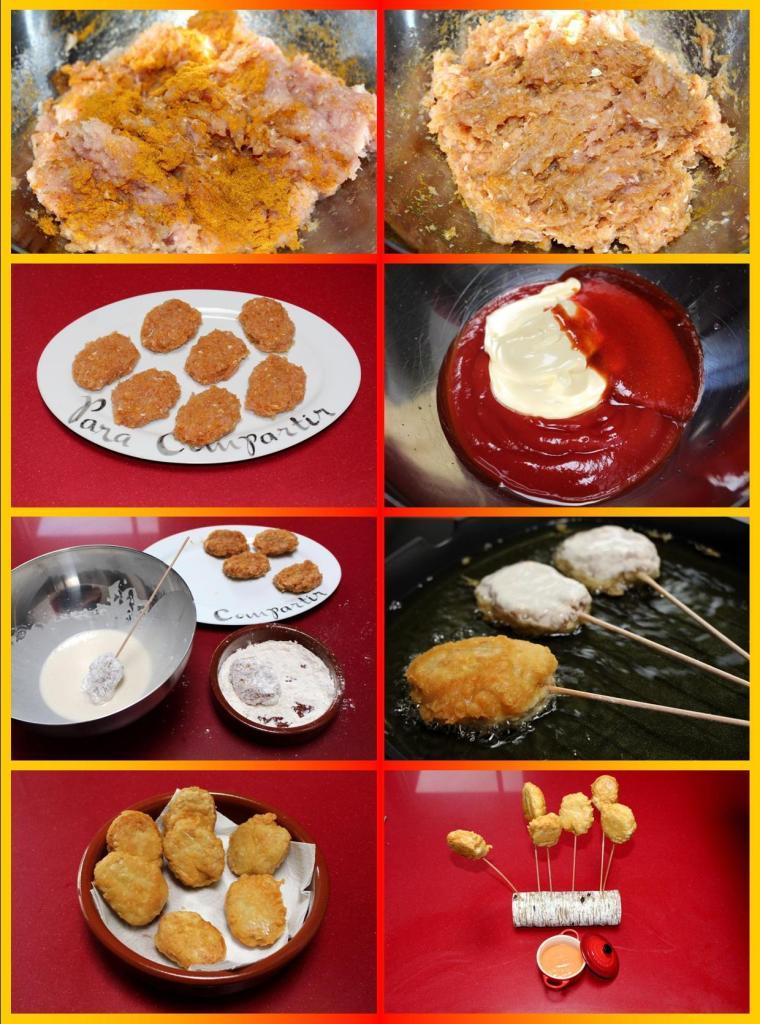 Nuggets de Pollo Ras Al Hanut
