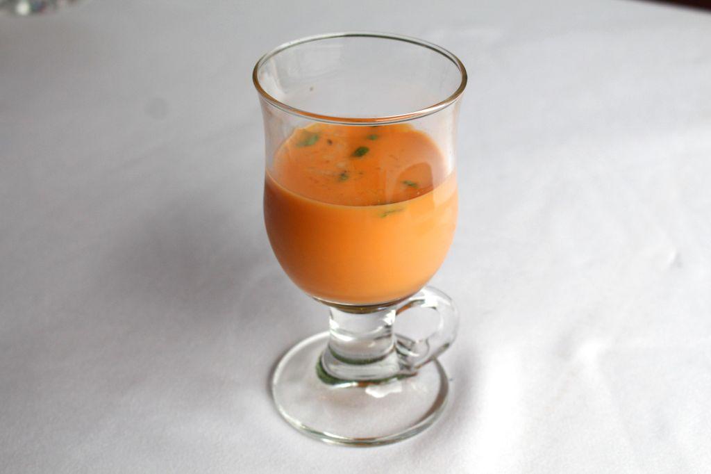 Sopa Fría de Manzana