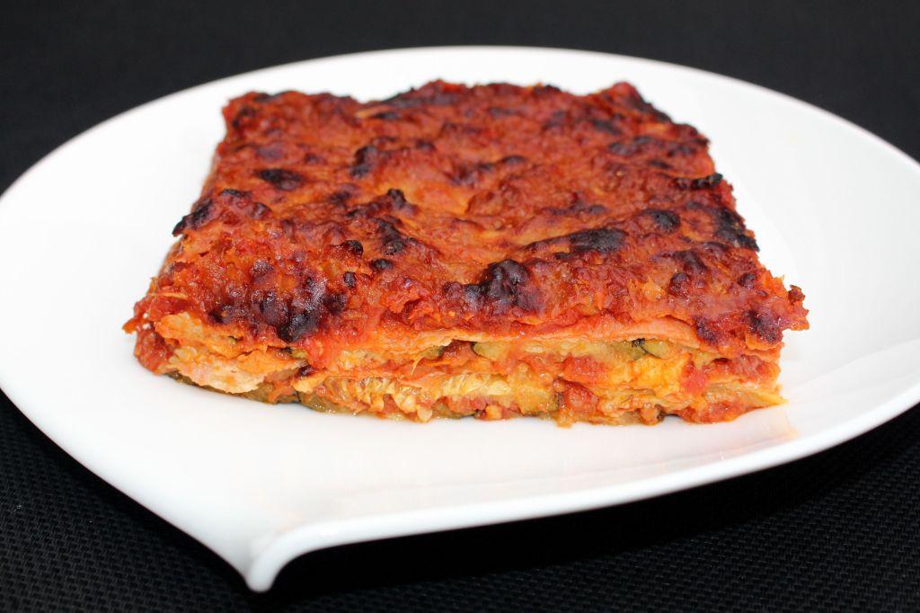 Parmigiana de Calabacin