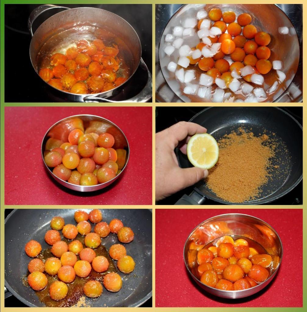 Tomates Cherry Caramelizados