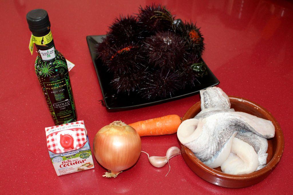 Merluza con Plancton y Oricios