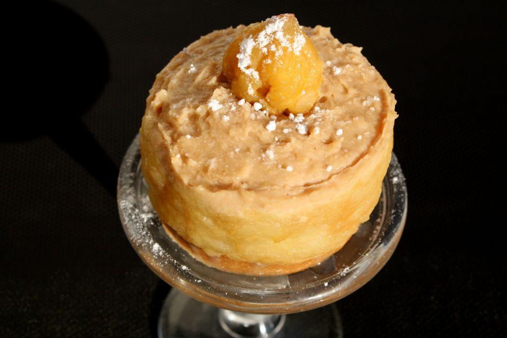 Tarta de Manzana y Castañas