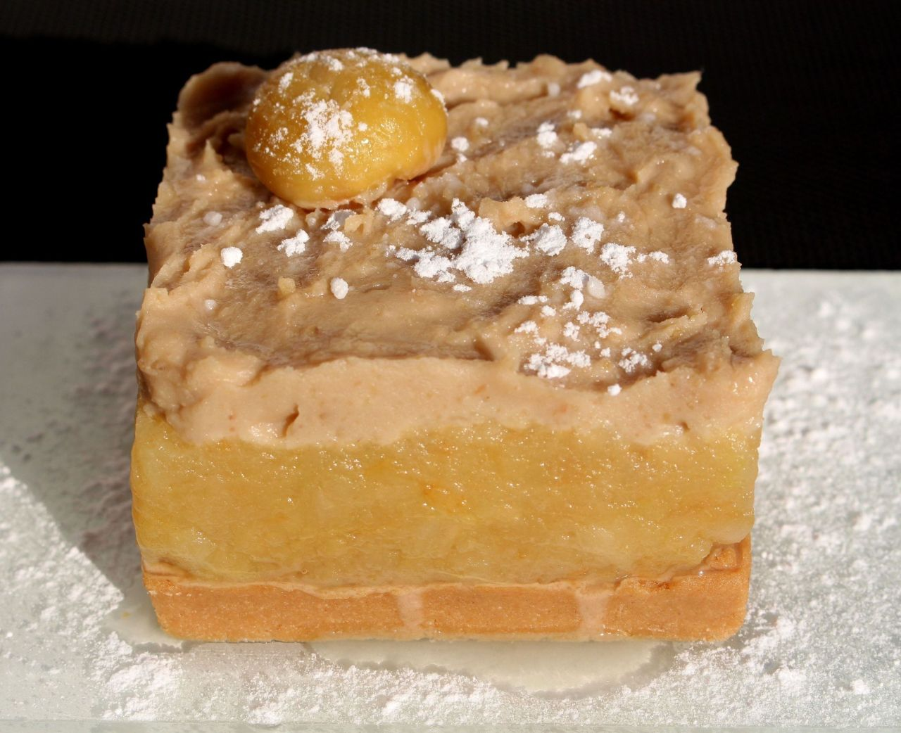 Tarta de Manzana yCastañas