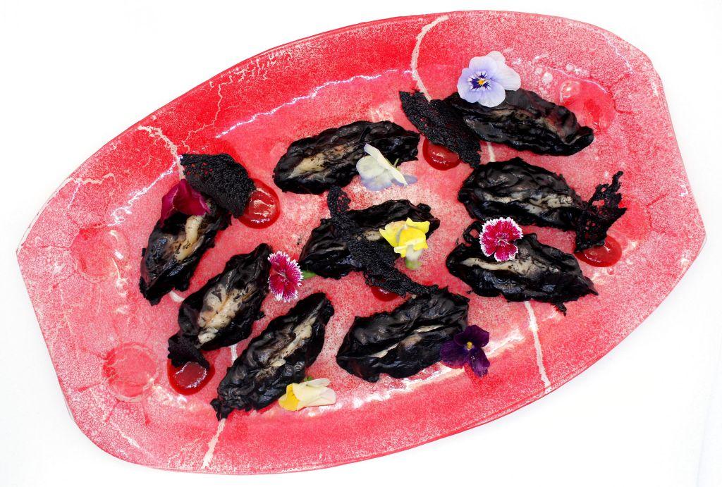 Gyozas de Calamar