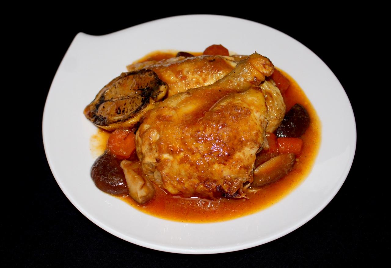 Pollo en Cocotte conCítricos