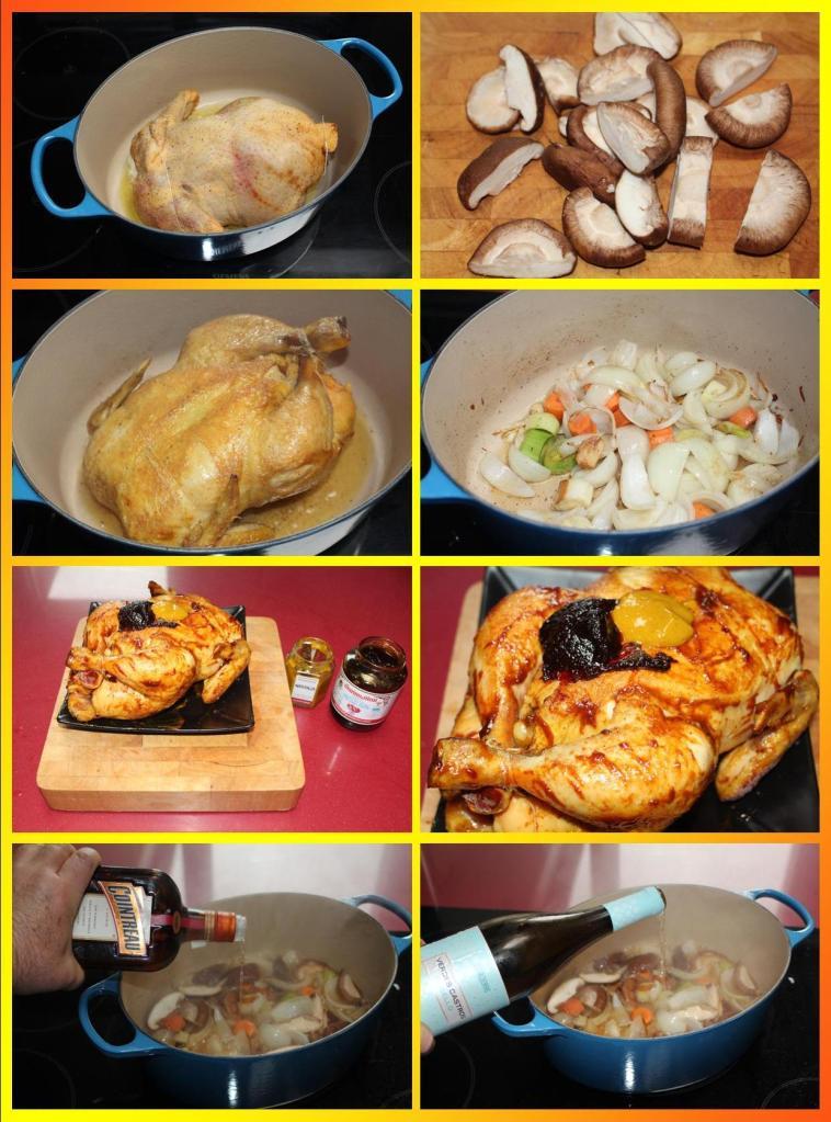 Pollo en Cocotte con Cítricos