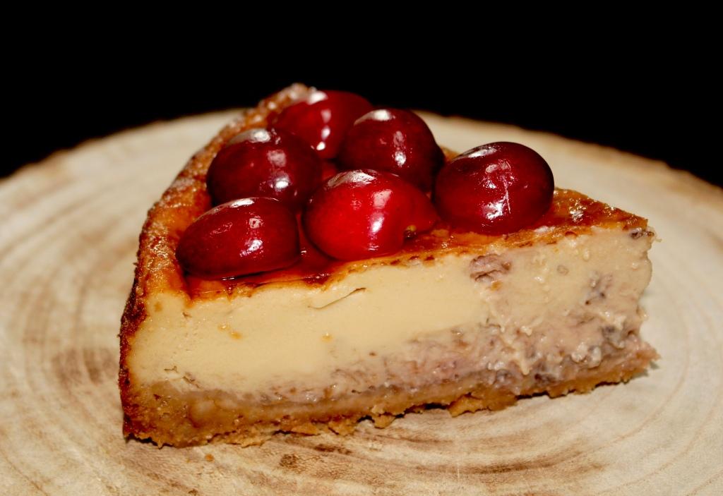 Tarta de Cerezas con Mascarpone