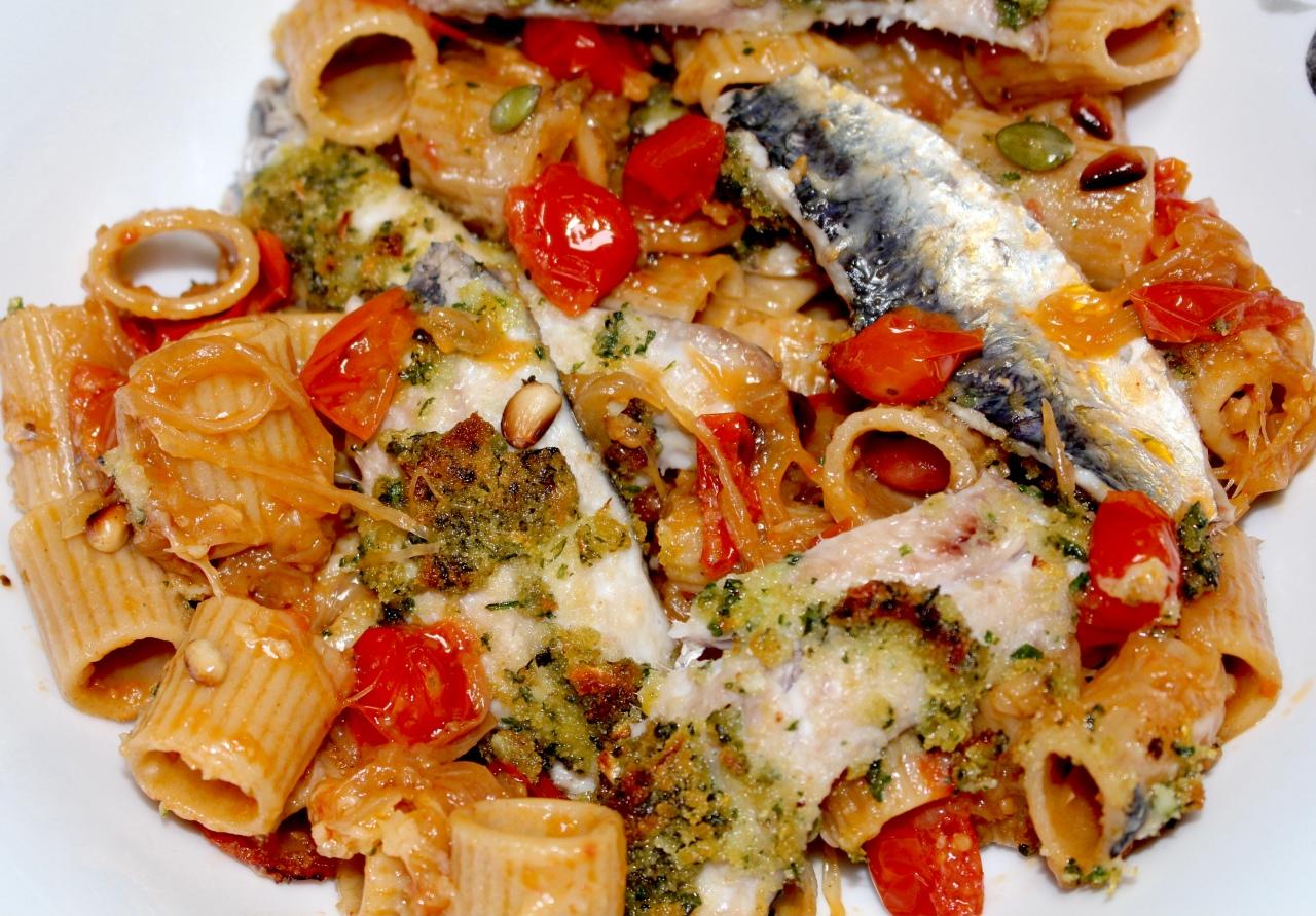Pasta con Le Sarde(Sardinas)