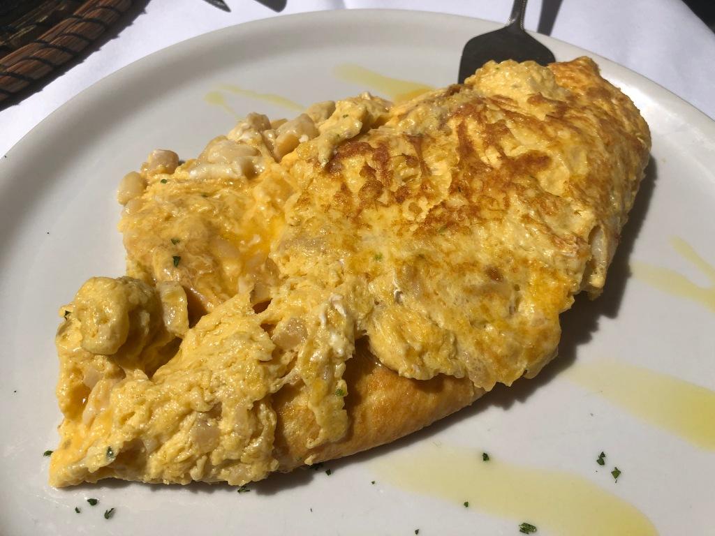 tortilla de cocochas