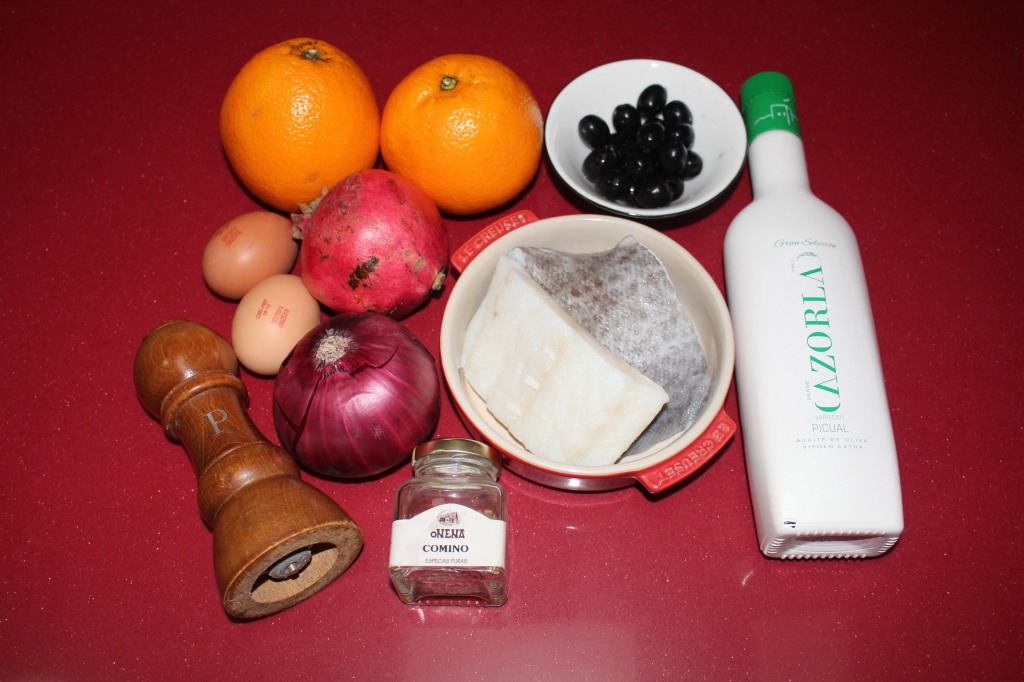 Remojón Granadino (Ensalada de Naranja)